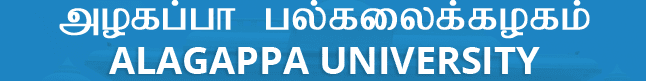 Alagappa University Results 2018