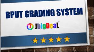 BPUT Grading System CGPA and SGPA