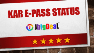 Karepass Application Status 2018