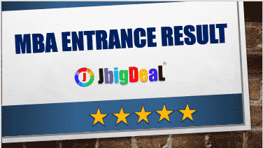 MBA Entrance Exam Result 2018