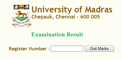 www.unom.ac.in result 2018 November and December