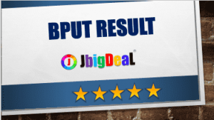 Check BPUT Result 209 and Rechecking exam Result 2019