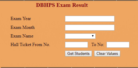 www.dbhpscentral.org results 2018