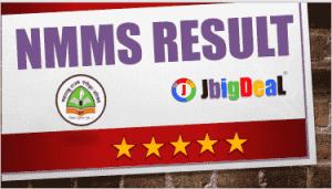NMMS Result 2019 Maharashtra