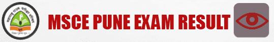 MSCE Pune Result 2018 Online