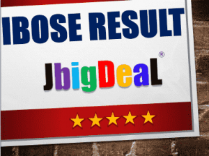 IBOSE Result 2018 Indian Board of School Education