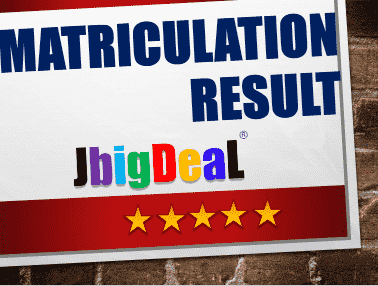 Matriculation Result 2019