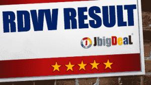 RDVV Result 2019 Portal
