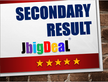 Secondary Result 2019
