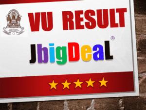 vikram university (VU) result 2018