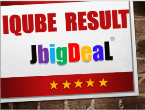 www.iqube.org.in results 2019
