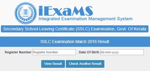keralapareekshabhavan.in 2019 SSLC Result