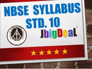 Nagaland Board Class 10th (HSLC) Syllabus 2019