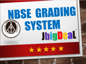 NBSE Grading System