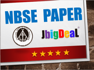 NBSE Previous Year Question Paper