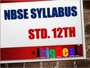 NBSE HSSLC Syllabus 2019